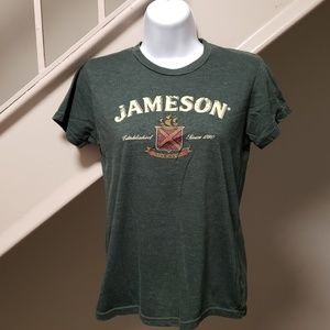 Jameson Irish Whiskey Large Ladies T-Shirt